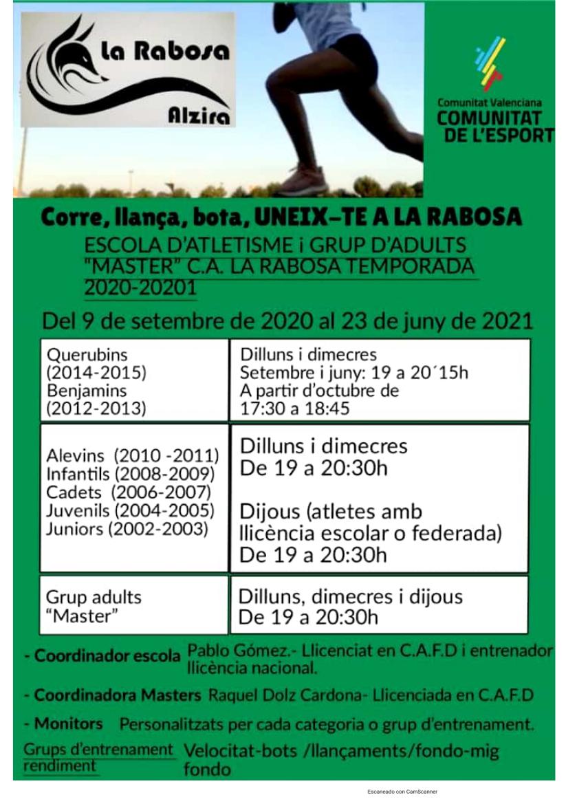 TEMPORADA 2020-21 INFORMACIÓ
