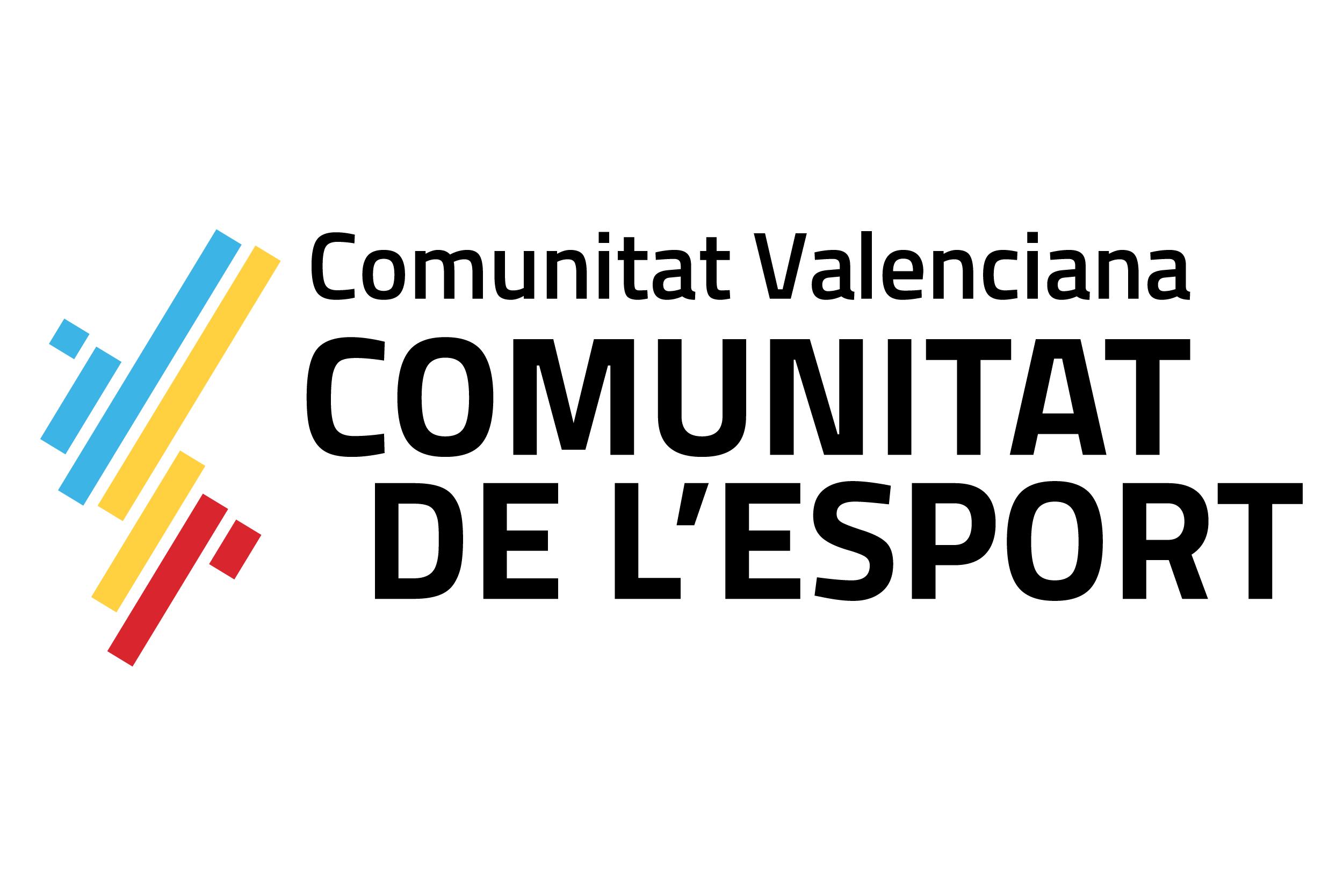 Logo Comunitat de l_Esport_Color H